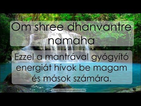 21 Nap Mantra Meditáció ♪♫ Deva Premal💓Miten - 15. NAP 🙏ॐ ♪♫ - Om shree dhanvantre namaha