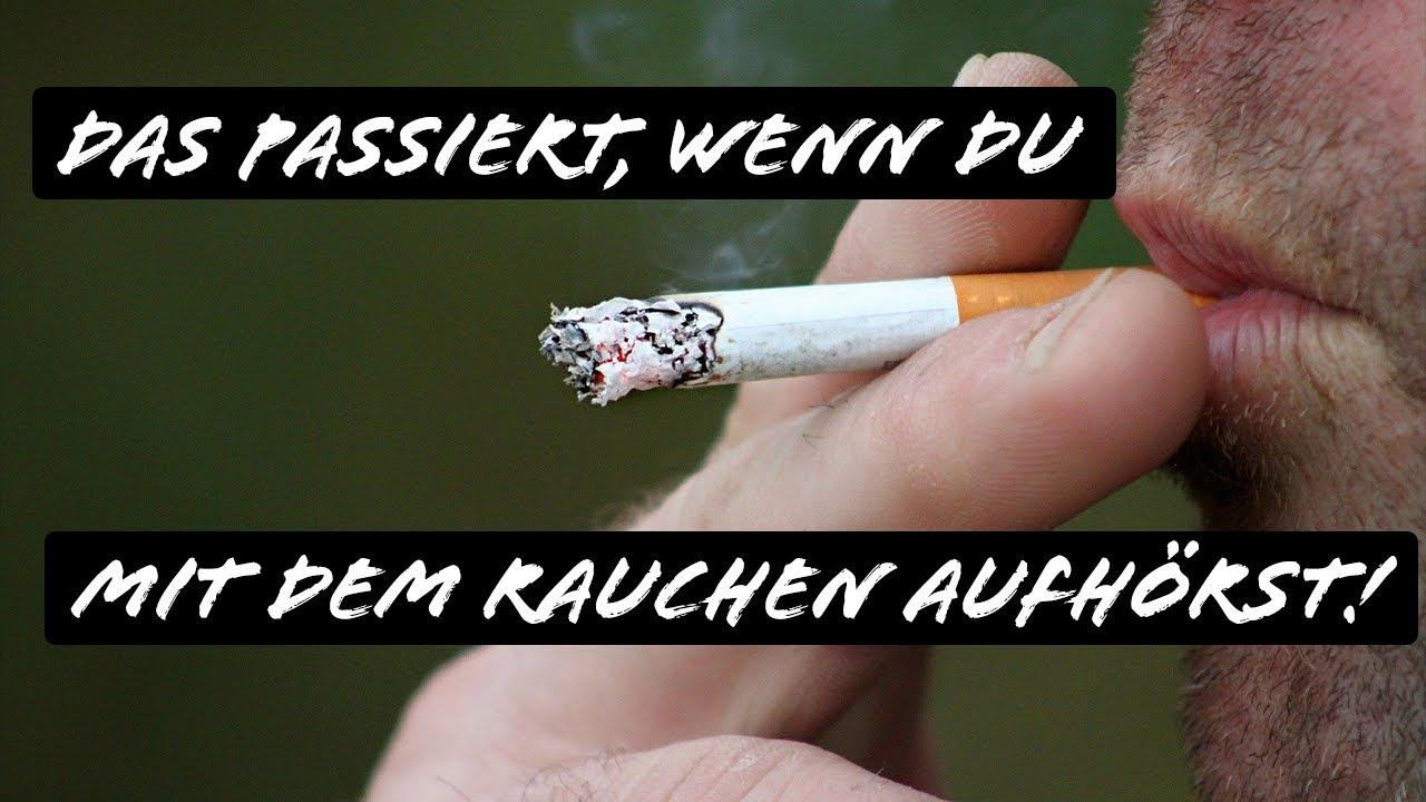 Das passiert, wenn Du mit dem Rauchen aufhörst!