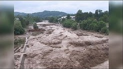Regen und Überschwemmungen in der Schweiz und anderen Ländern