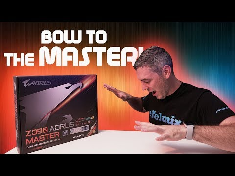 The BEST Z390 Motherboard??? - Gigabyte Z390 AORUS Master Re