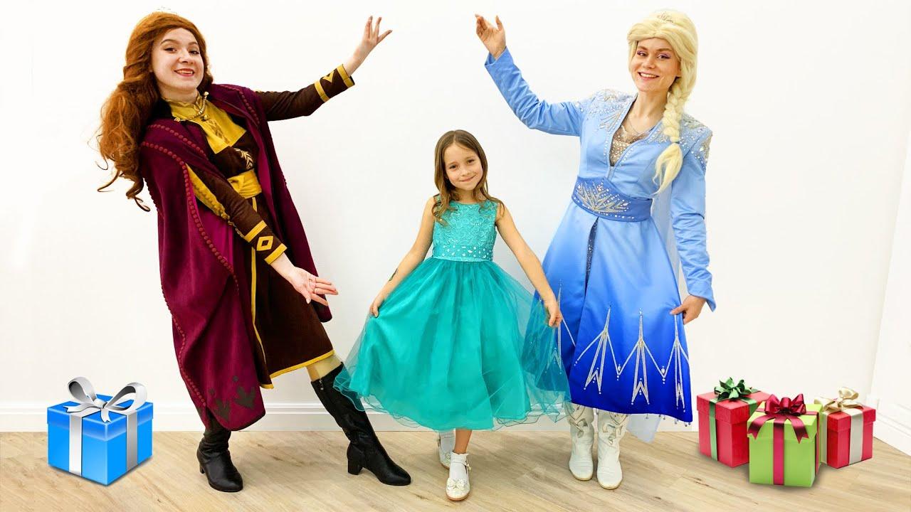 София и её День Рождения в стиле Принцесс Анна и Эльза ...