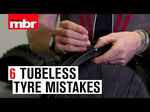 6 Tubeless Tyre Mistakes   Mountain Bike Rider