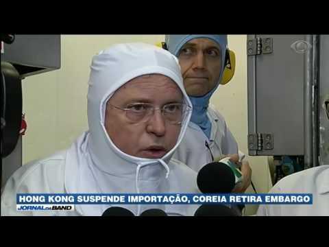 Ministro da Agricultura inspeciona frigorífico no PR