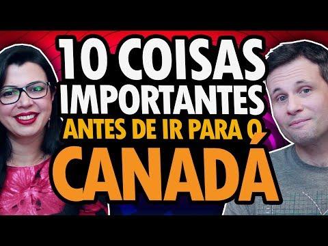 10 COISAS IMPORTANTES PARA FAZER ANTES DE IR PARA O CANADÁ