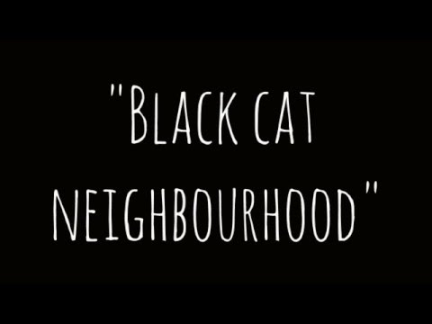 """Black cat neighbourhood"" Scourge speedpaint"