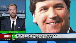 Tucker Carlson accuse la NSA de l'avoir espionné, l'agence dément sur Twitter
