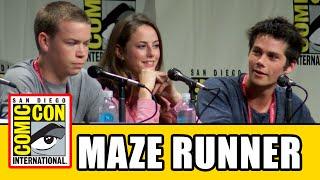 THE MAZE RUNNER Comic Con Panel