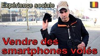 Expérience sociale #18 : Revendre des smartphones volés!