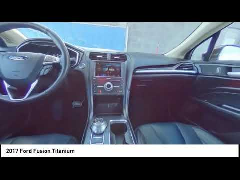 2017 Ford Fusion Belleville WI HR208826A