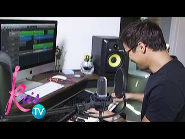 "Kris TV: Sam sings ""All of Me"""