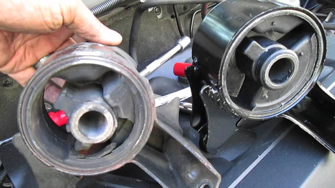 How to replace motor mount on 2007 honda civic for Honda civic motor mount replacement cost
