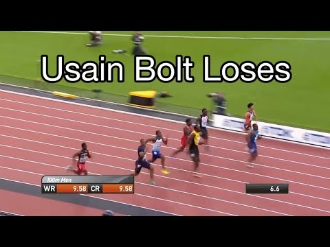 Usain Bolt World Championships 2017 100m: Justin Gatlin WINS