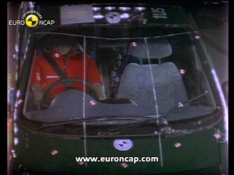 Euro Ncap Daewoo Matiz 2000 Crash Test Youtube