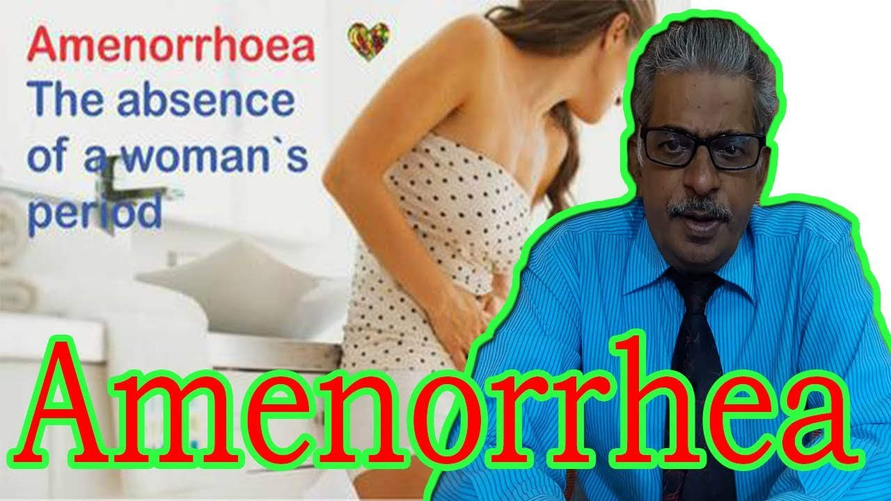 Amenorrhea in Hindi - Discussion and Treatment in Homeopathy by Dr P S   Tiwari