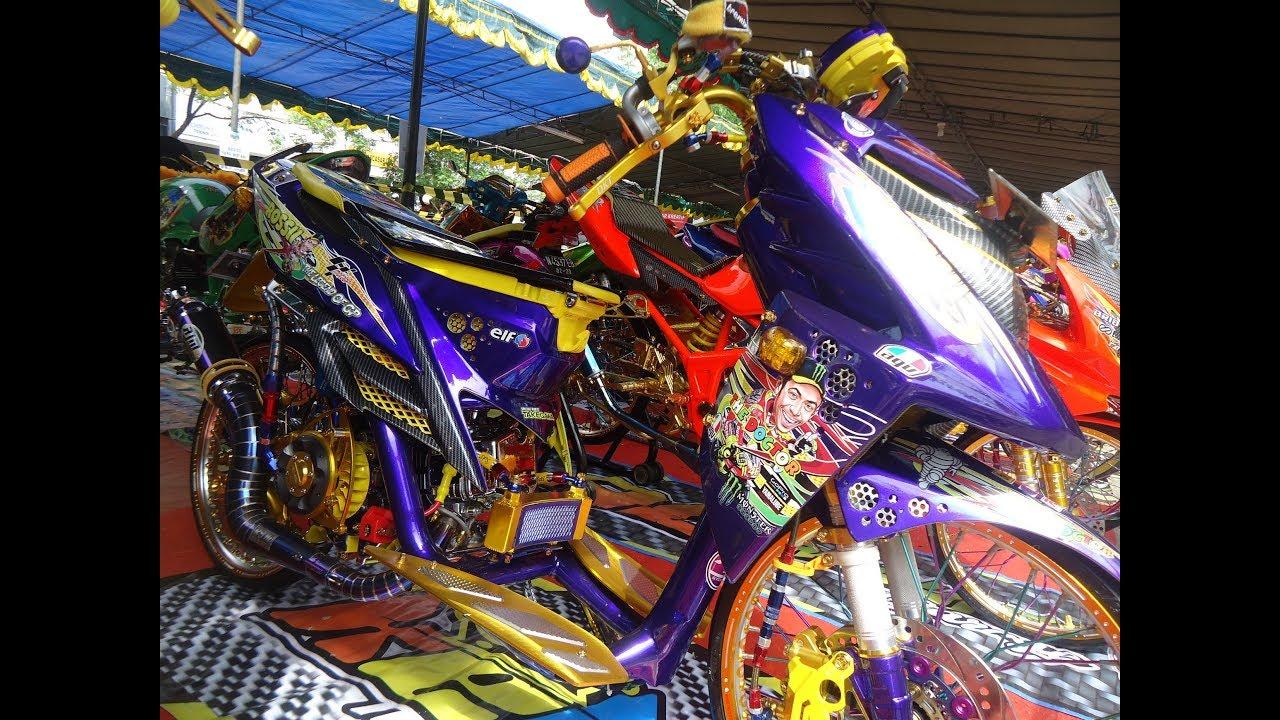Modif Yamaha X Ride Thailook Street Racing Kontes Youtube