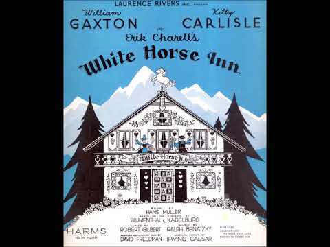 William Gaxton, Kitty Carlisle And Robert Halliday – Selections From White Horse Inn