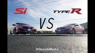 2017 Type R vs SI - Little 1.5L Honda Civic Si Se Puede