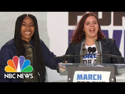 Sam Fuentes At Rally: 'I Just Threw Up On International Television And It Feels Great!' | NBC News
