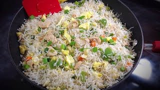 Chinese Chicken Fried Rice Video - Restaurant style by (HUMA IN THE KITCHEN)