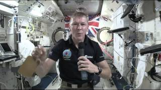 British Astronaut Talks From Space with Students and Teachers Back Home