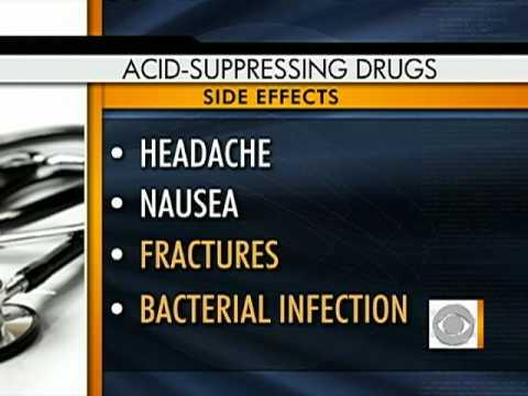 Acid Reflux Drug Side-Effects