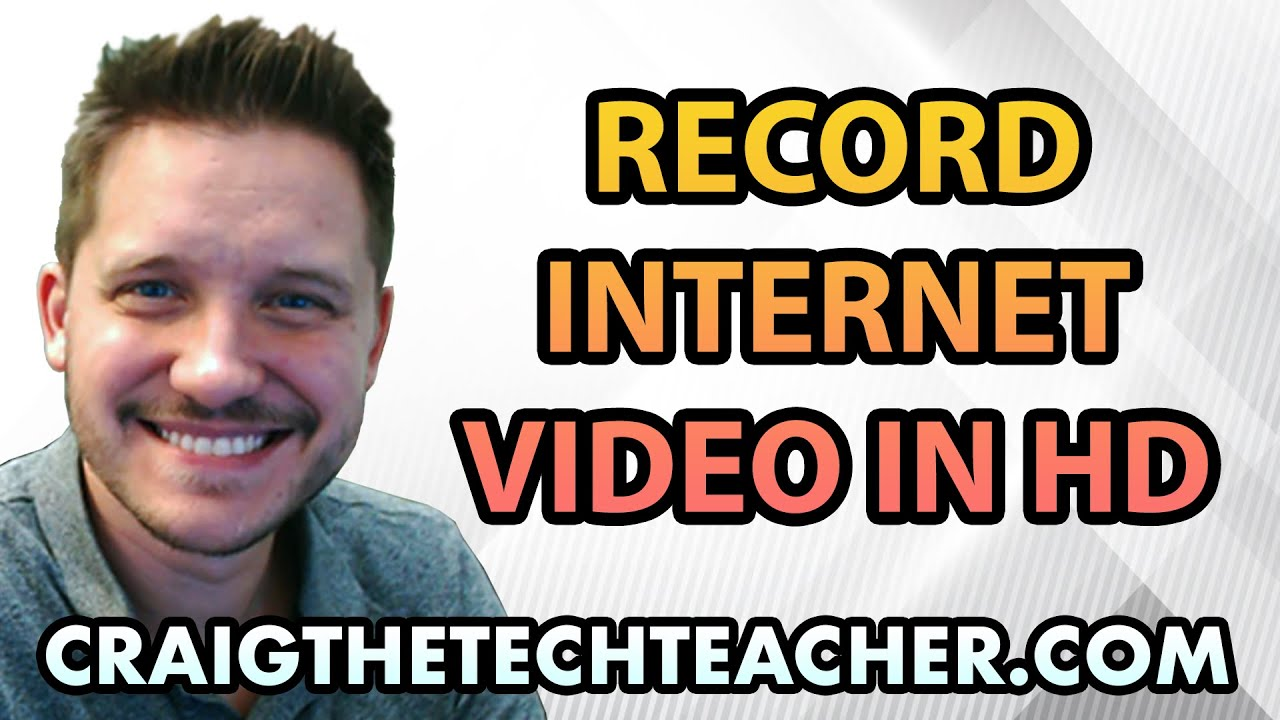 How To Record Streaming Internet Video In 720p or 1080p HD