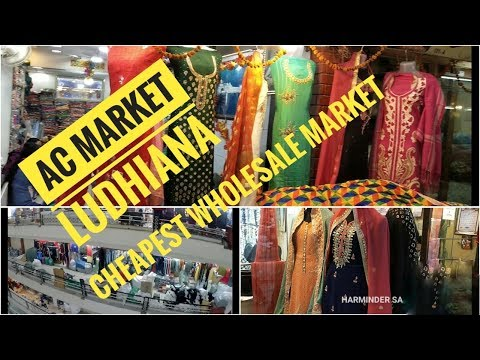 AC Market Ludhiana I Cheapest Wholesale Market in Ludhiana I Cheapest  Clothes in Ludhiana