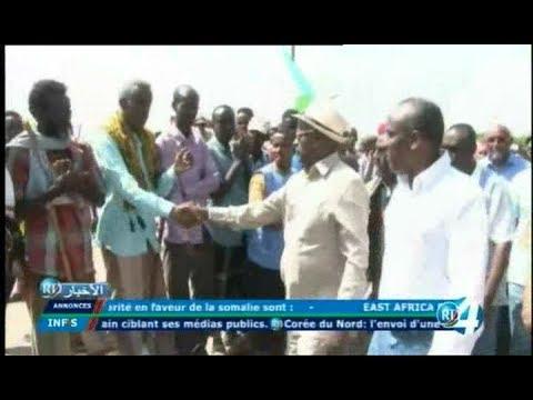 Télé Djibouti Chaine Youtube : JT Anglais du 17/11/2017