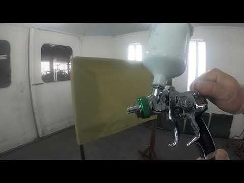 Automotive spray gun setup. Ohio Technical College