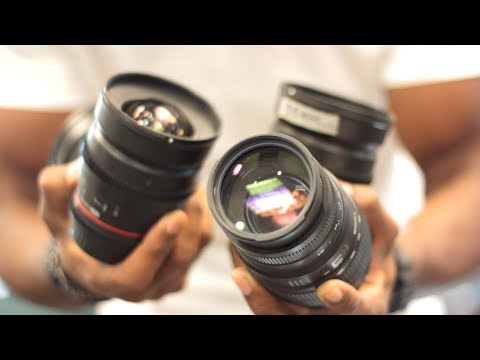 Introduction to Camera Lenses for Filmmaking and photography