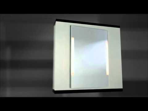 Roller Badspiegel.Led Lampen Badspiegel Youtube