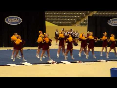 McCreary Central High School Cheerleaders/KHSAA Cheerleading State Competition 2017