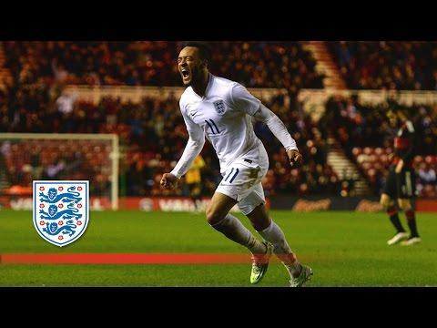 Redmond goal - England U21s 3-2 Germany | Goals & Highlights