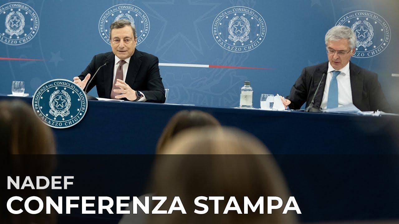 Conferenza stampa Draghi - Franco - YouTube