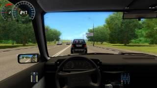 Audi 80 - POV Test Drive