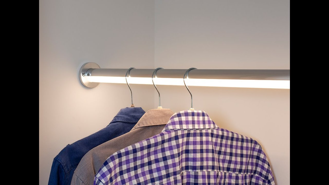 Led Closet Lighting The Hangr
