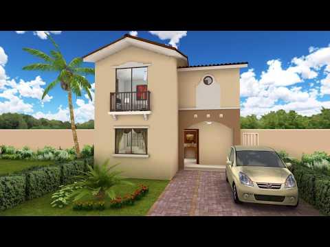 Casa 3d ejemplo fachada trazzos g doovi for Casa moderna minimalista interior 6m x 12 50m