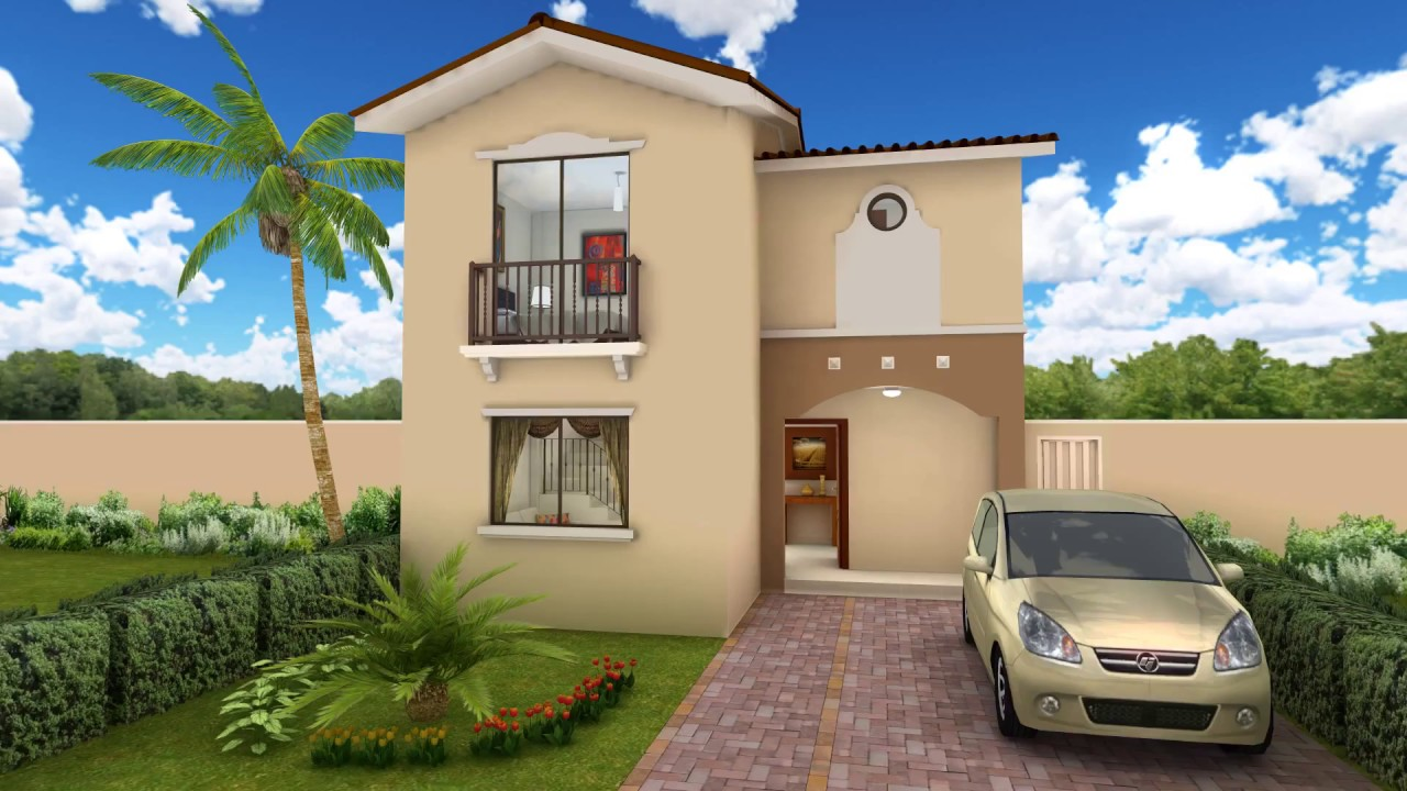 Casa modelo irmina youtube for Modelos de casas interiores