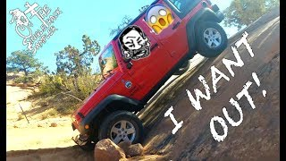 Jeeping with Seth's Bike Hacks, Dirt jumping with Nate Hills, and MOAB OUTTERBIKE!!