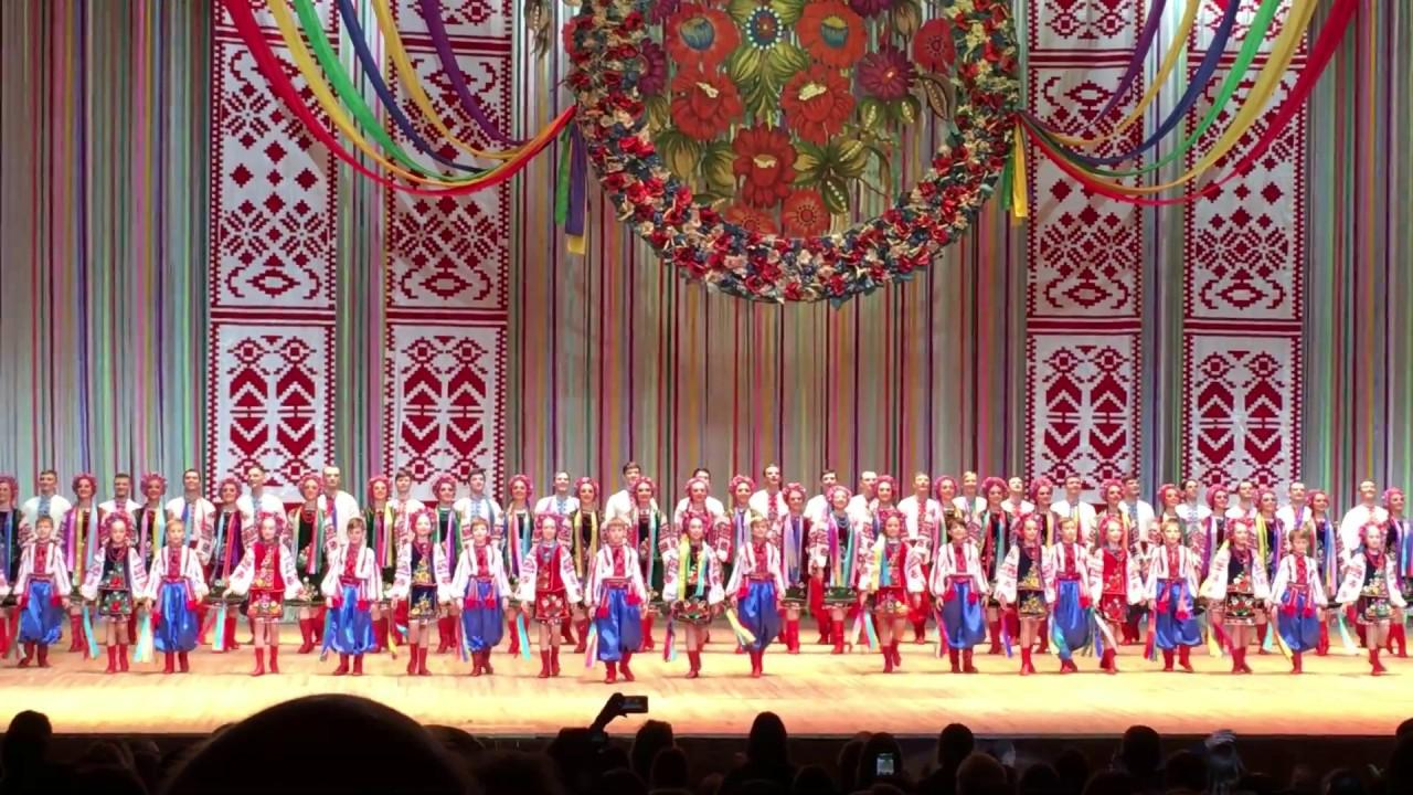 Гопак. Концерт ансамбля им.П.Вирского Virsky 24.11.2016