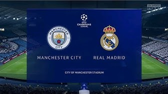 ⚽️ Manchester City vs Real Madrid ⚽️ | Champions League (17/03/2020) | Fifa 20