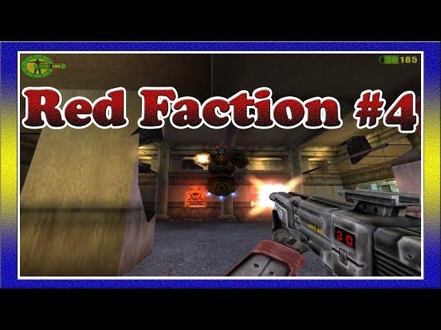 Red Faction / Красная Фракция #4 - Взрыв Шахтёров в Челноке и Фраза Синих: