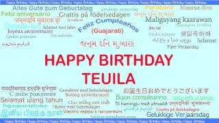 Teuila   Languages Idiomas - Happy Birthday