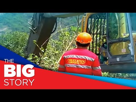 Backhoes From Philex Arrive In Itogon To Help With Search Operations