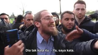 Kebencian Yahudi Zionis Terhadap Muslim Dikantoikan