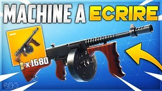 Fortnite: This Weapon Is Intriguing on Fortnite Saving the World!! - ( Writing machine)
