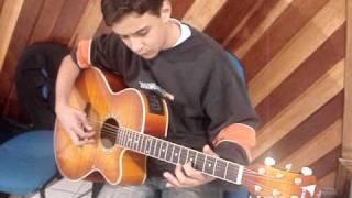 Caiã solo violão projeto no deserto