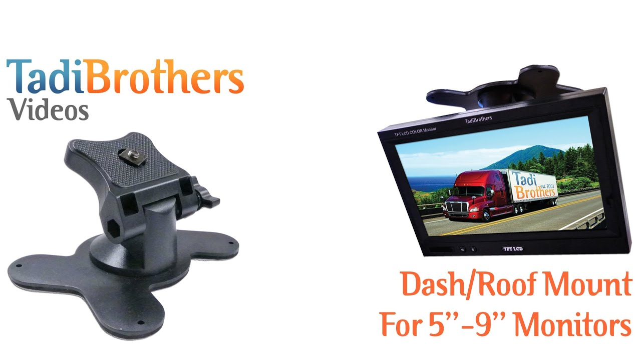Monitor Mount for Backup Camera Systems from www.tadibrothers.com ...