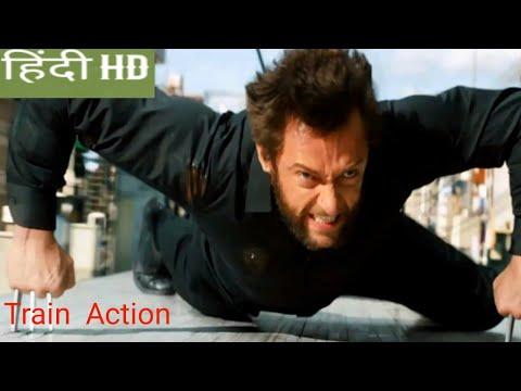 Download The wolverine 2013: Wolverine Train Fight scene in Hindi movie clips