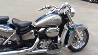 Honda Shadow 400(Купить Honda Shadow 400 можно у нас http://motoyard.com.ua/, 2015-04-07T07:11:13.000Z)